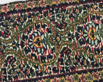 Colorful highly detailed woven trim piece