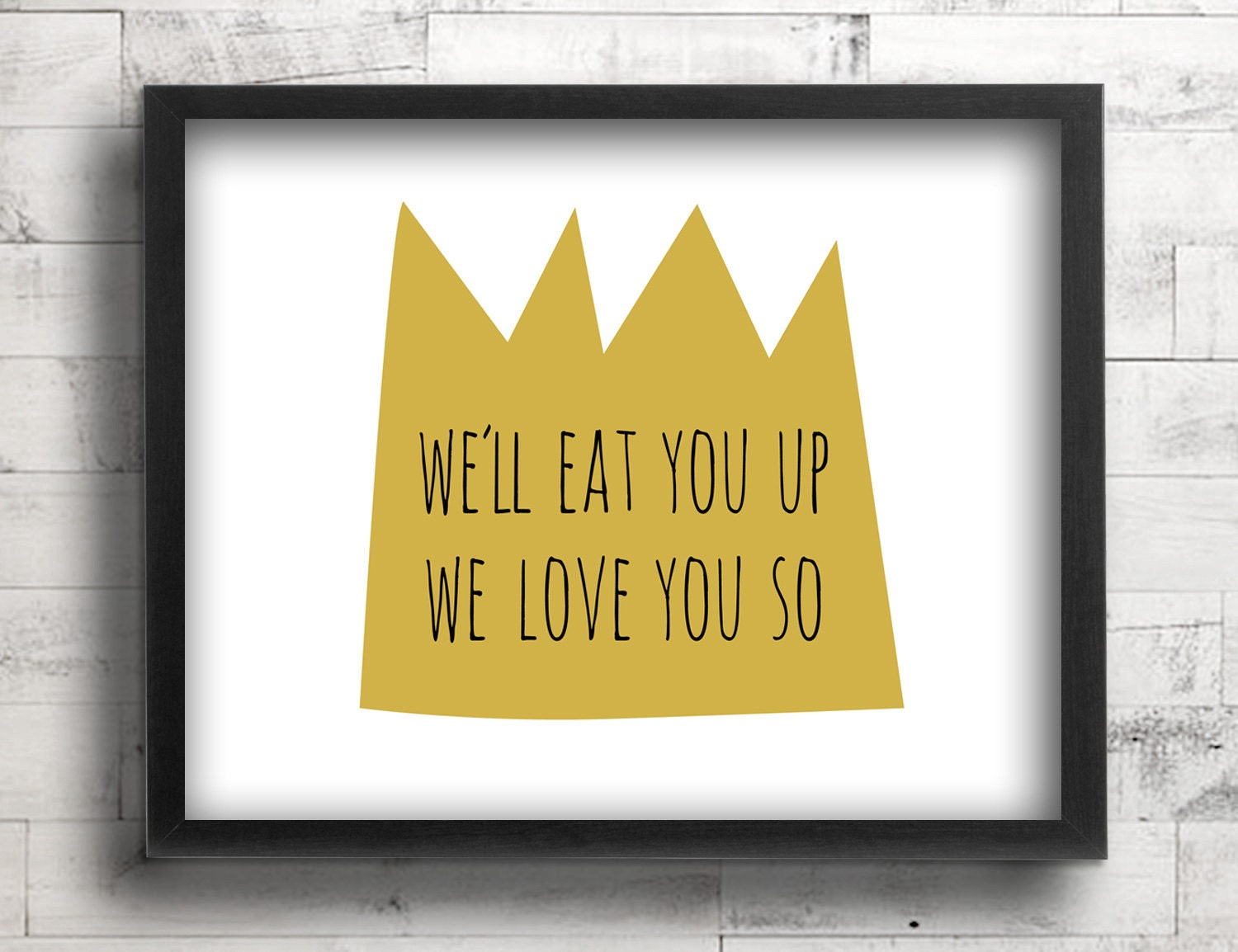 Where the Wild Things Are Nursery Decor Baby Boy King