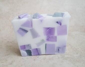 Passion Flower Soap, Artisan Soap, Floral Soap, Spring Soap