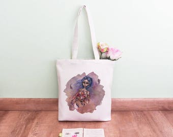 Organic Tote Bag. Nymph - limited edition