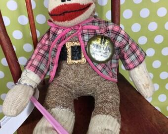"Sock Monkey - Vintage - ""Lester Earl"""