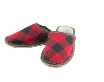 Guest Slippers! Gift Slippers! Men's slippers! Fabric slippers!
