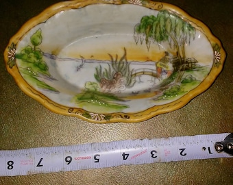 Early 20th century nippon cmjapanese dish made in nippon also known as japan