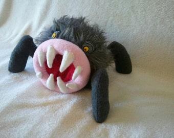 Handmade Fuzzy Monster Plush