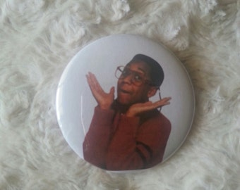 Steve Urkel Pin Back Button 2.25""