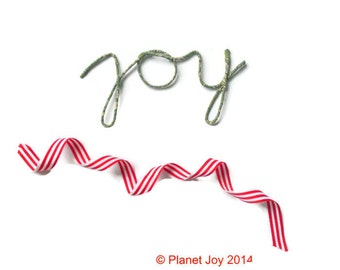 Wire 'joy' wrapped in Liberty of London fabric