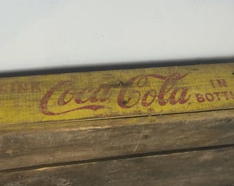 Vintage Coca Cola Crate Storage Box