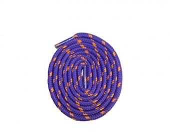 Shoe Laces, Colored, Purple and Orange Shoelaces
