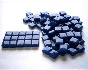 Micro Mosaic 8mm Tiles 100 pack Mosaic Heaven Micro Mosaic Tiles, Oxford Blue D3 Tesserae, Tessera.