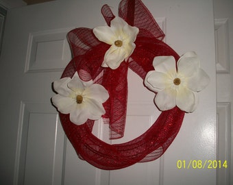 Thease are wreaths for homes, weddings, parties, auction items, gifts