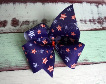 Patriotic Stars Big Bow