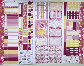 Fairy Play Personal Planner Sticker Kit: