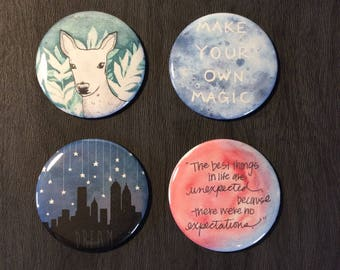 Inspire / Shabby Chic / Bohemian Magnet Sets