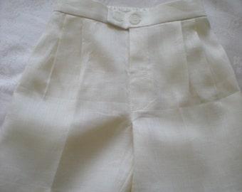 Boy Linen Shorts, baby and toddler Linen Shorts.