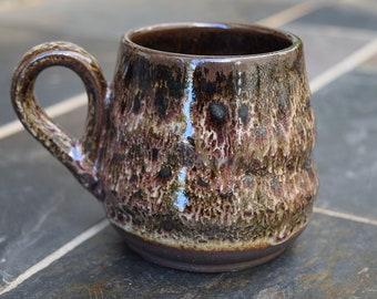 Ceramic Coffee Cup, Handmade Ceramic Mug, Ceramic Mug, Coffee Mug, Gift Idea, 12 oz