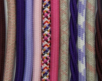 fabric cloth electrical cord cable - over 160 colours and patterns