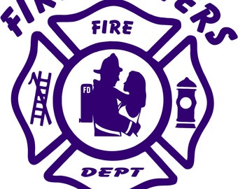 Firefighters Wife Decal