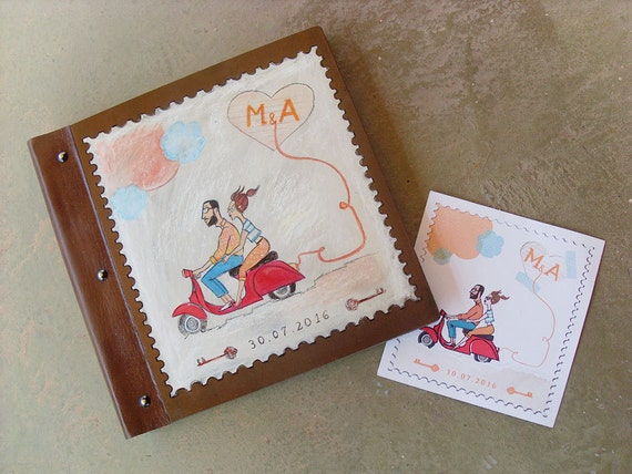 Photo Books, Wedding Albums, Photobook, Personalized Wedding Invitation Photo Album, Custom Wedding PHOTO ALBUM, Totally Handmade