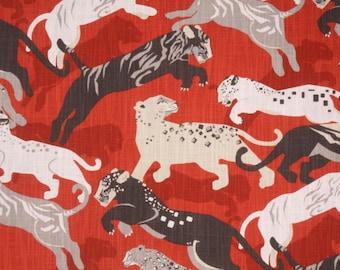 Dwell Studio Rajita Tiger Persimmon Pillow Cover