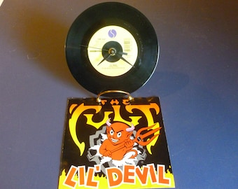 The Cult Lil ' Devil Recycled 45 Record 7-28290-A Sire Records 1987