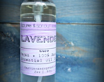 Lavender Essential Oil Spray