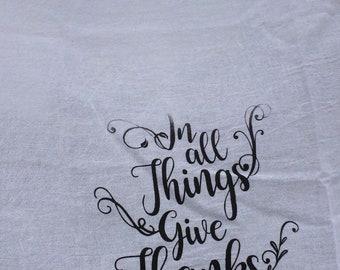 Cotton Kitchen Towel, Kitchen Towels, Flour Sack Towels, White Kitchen Towel, Tea Towels, Kitchen Towel, Dish Towel
