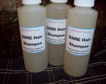 Awesome All Natural Shampoo (that actually works), Handcrafted, NO CHEMICALS, tailored to your hair type