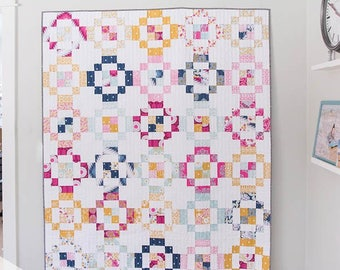 Jelly Rings Quilt Pattern by Emily Dennis