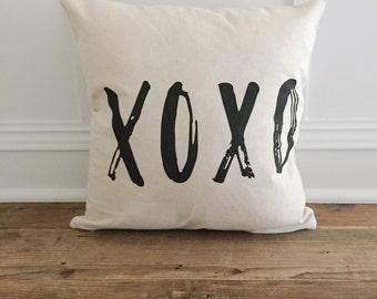 XOXO Pillow Cover