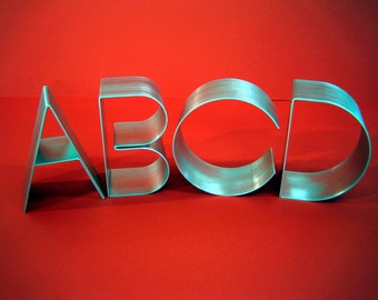Metal letters freestanding large-Empire 6""