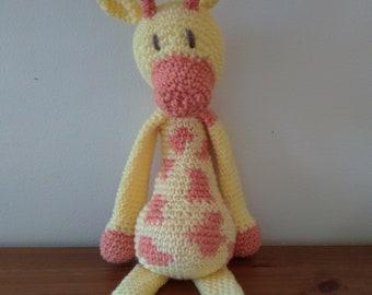 Giraffe soft toy, cuddly plush toy