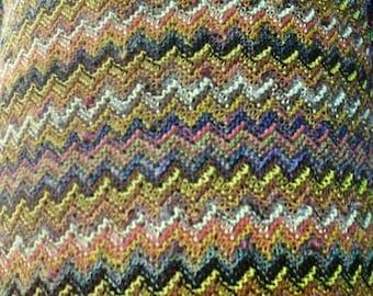 Ex Designer Multicoloured Festival Dress Top or Bag Fabric per metre