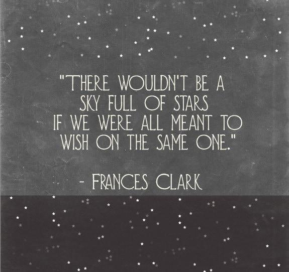 A Sky Full Of Stars - Inspirational Art - Inspirational Wall Quotes - Motivational Quote - Motivational Wall Decor - Typography Wall Art