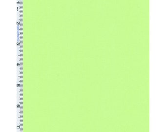 Soft Green Beverly Twill, Fabric By The Yard