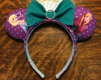 Frozen Anna and Elsa Ears