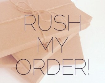 Rush Order Please! HELP! Ready to Ship 2-4 business days