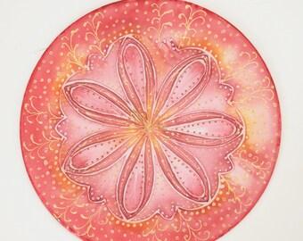 New beginning flower mandala, flower fresh start goddess-mandala-art, mandala art, spiritual art, Goddess art, meditation