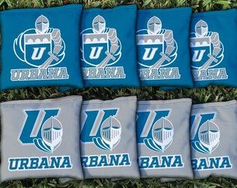 Urbana Blue Knights Cornhole Bag Set