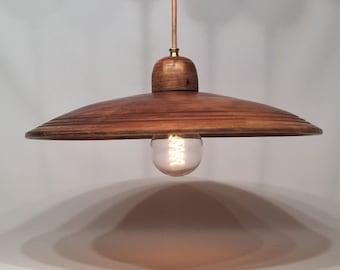 Pendant ceramic lamp (diameter 42 cm)