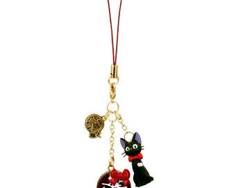 Strap ・Bag Charm / Kiki's Delivery Service Studio Ghibli / Jiji Suites Burarin chocolate