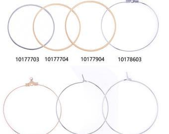 Geometry Earring stud earrings Geometric Hoop Earrings Minimalist Earrings Metal diy jewelry 20pcs 1017
