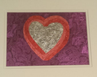 Full Heart - Gum Wrapper Art