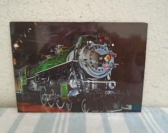Rare 1926 Steam Engine Locomotive / Southern Railways / Post Card! Stunning!