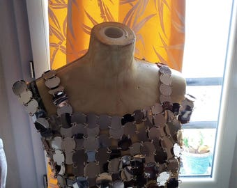 beautiful and rare TOP PACO RABANNE vintage