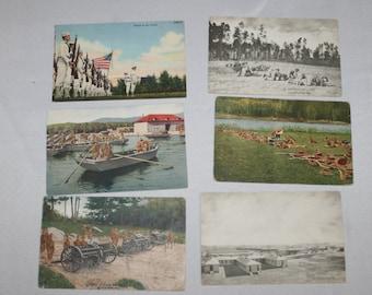 Vintage Army Postcards