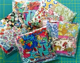 Liberty Fabric Scrap bag - NEW LARGER SIZE - Lucky dip