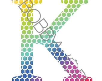 Alphabet Print - Letter K