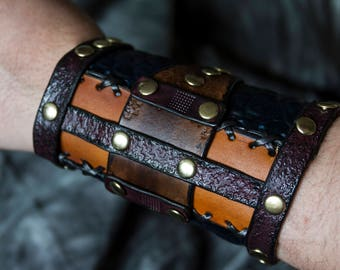 Leather Arm Cuff