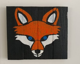 Fox wood picture