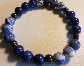 Insomnia Custom Healing Crystal Bracelet